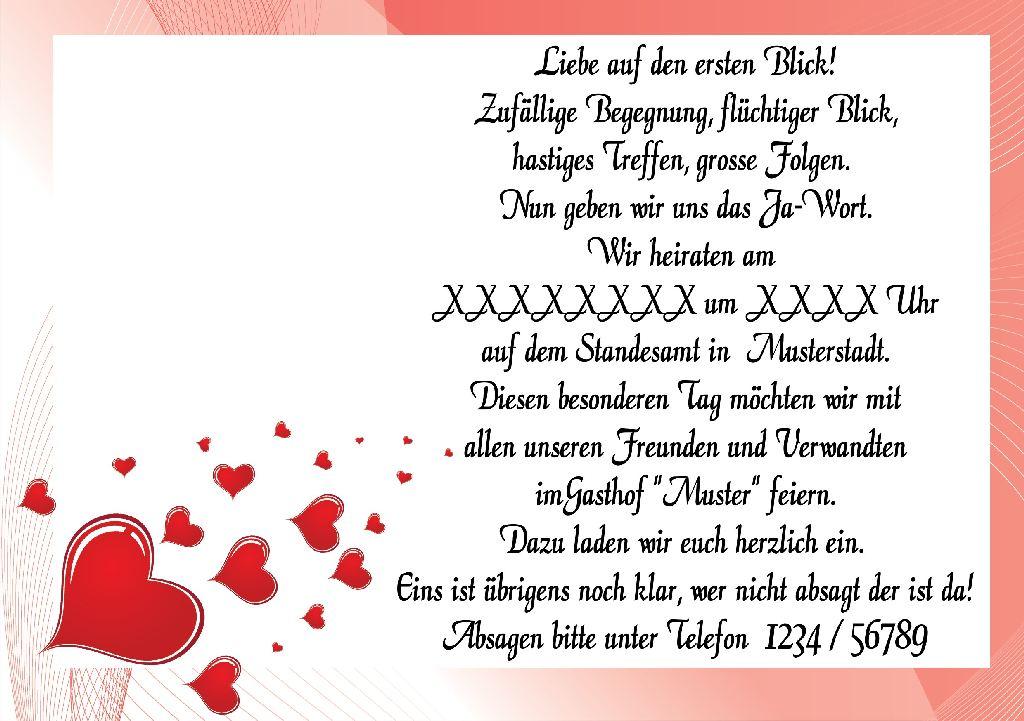 ab 10 st einladungskarten hochzeit einladung polterabend heiraten, Einladung